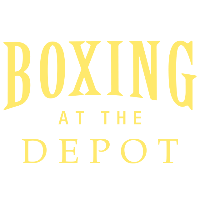 BOXING AT THE DEPOT logo