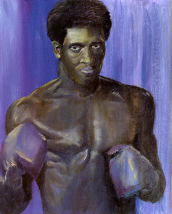 "Thomas ""Hitman"" Hearns 11 x 14 Print"