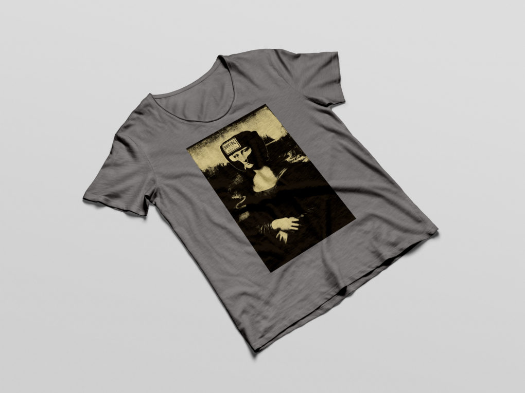 Mona Lisa Boxing Shirt
