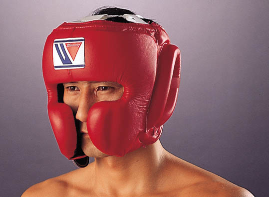 Winning Boxing Headgear Red