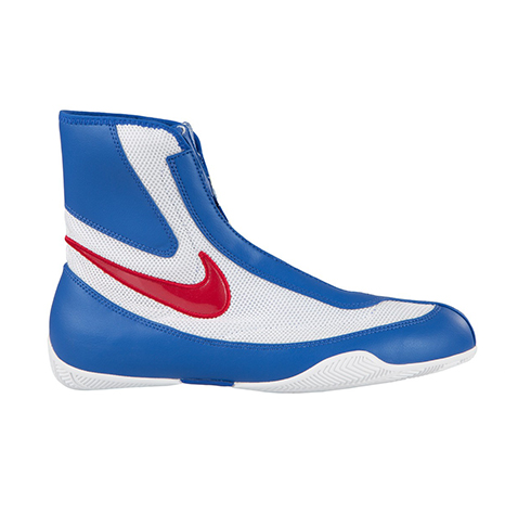 Nike Machomai Boxing Shoes    Red/White/Blue