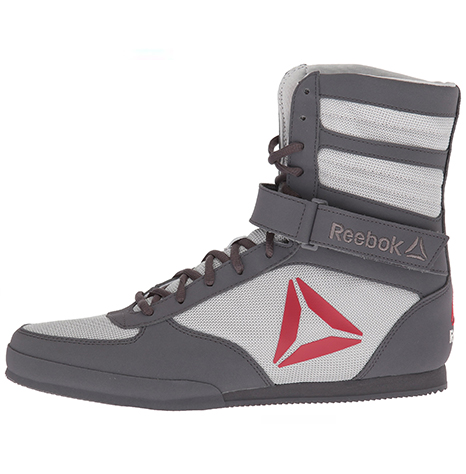 Reebok Boxing Shoes Grey & Red