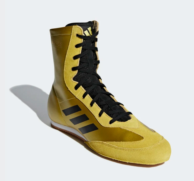 Adidas Boxing Shoes Gold