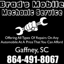 brads mobile mechanic service, Gaffney SC, 864-491-8067